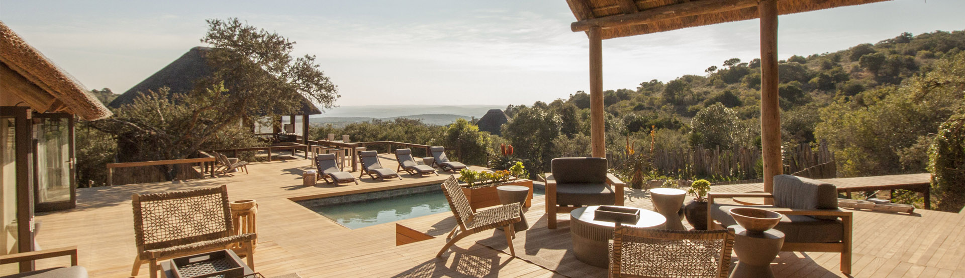 Bukela Game Lodge Sundeck View