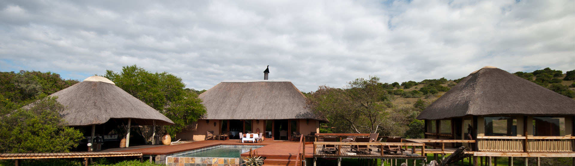 Bukela Game Lodge Amakhala Game Reserve Eastern Cape Pool Main Lodge